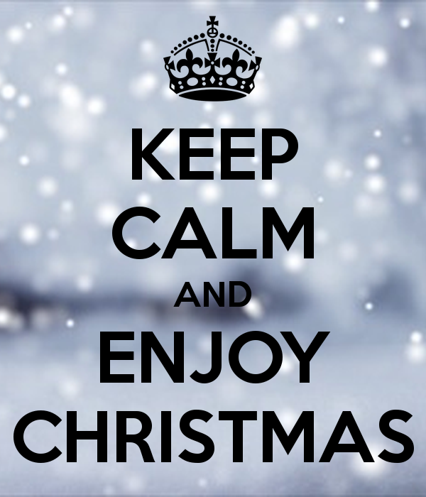 keep calm Christmas